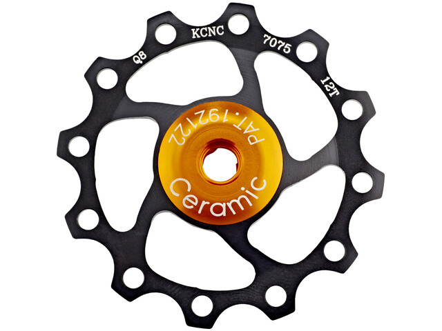 KCNC Jockey Wheel 12 Zähne Ceramic Bearing schwarz
